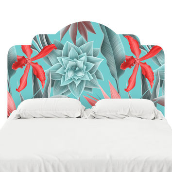 Bouquet Beyond the Sea Headboard Decal