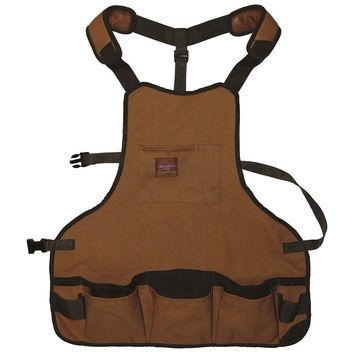 Bucket Boss® 80200 Duckwear Canvas SuperBib Apron with 16-Pockets