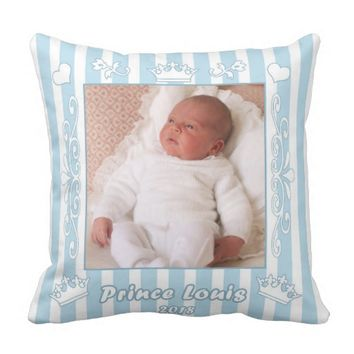 Prince Louis Throw Pillow