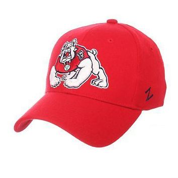 Licensed Fresno State Bulldogs Official NCAA ZHS Large Hat Cap by Zephyr 072592 KO_19_1