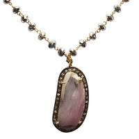Jewels By Dunn   Sapphire and Hematite Necklace