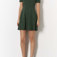 Daisy High Neck Skater Dress - Topshop USA