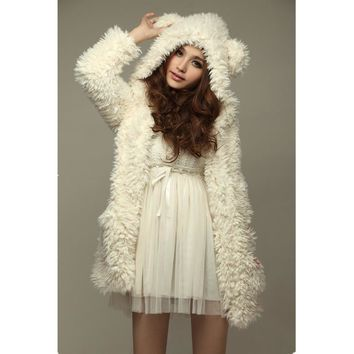 (Popular) Teddy Bear Hoodie Jacket