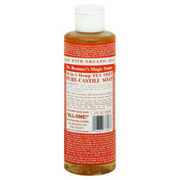 Dr. Bronner's Pure Castile Soap - Fair Trade And Organic - Liquid - 18 In 1 Hemp - Tea Tree - 8 Oz