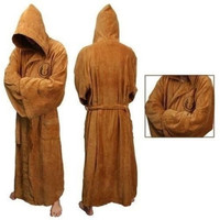 Star Wars Jedi Knight Robe Deluxe Bath Robe Costume unisex [9222486980]