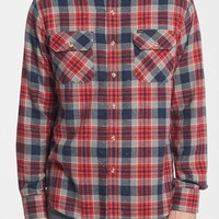 Men's Obey 'Floyd' Nep Plaid Flannel Shirt,