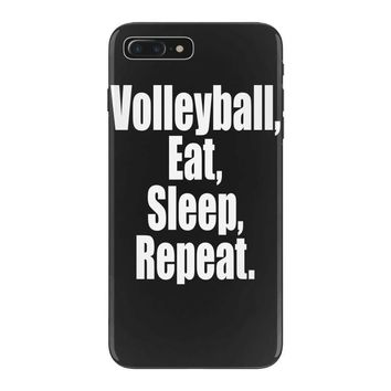 EAT, SLEEP, VOLLEYBALL, REPEAT iPhone 7 Plus Case