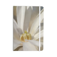 """Robin Dickinson """"First Signs"""" White Floral Everything Notebook"""