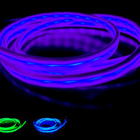 Motorola Droid Ultra Light Up Glow Visible Current Flow Data Sync Charging Cable Micro USB Phone Charger - Blue,Green,Red,Pink,Purple