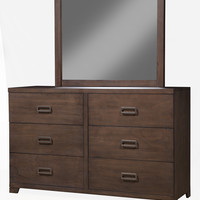 Alpine Savannah 6 Drawer Dresser