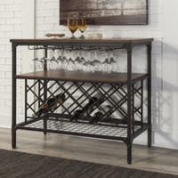 D405-60 Rolena Dining Room Server - Brown - Free Shipping!