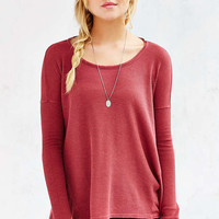Ecote Riley Thermal Top - Urban Outfitters