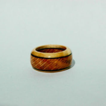 Curly Maple Wooden Ring