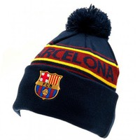 FC Barcelona - Knitted Striped Ski Hat