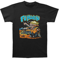 Fu Manchu Men's  Van Dude T-shirt Black Rockabilia