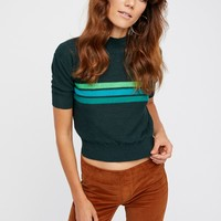 Free People Way Back Mock Neck Sweater