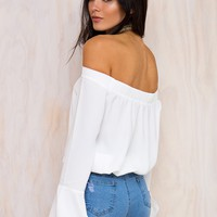 Deja Vu Off The Shoulder Top