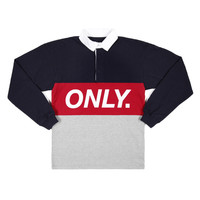 ONLY NY | STORE | Cut & Sew | Logo Rugby