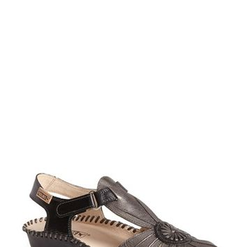 Women's PIKOLINOS 'P. Vallerta' Metallic Leather Flat,