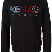 Kenzo Embroidered Logo Sweater - Concept Store Smets - Farfetch.com