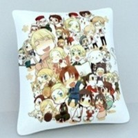 Axis powers Hetalia Pillow Cushion 10""