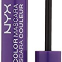 NYX Cosmetics Color Mascara, Purple, 0.32 Ounce