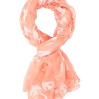 Pink Bird Infinity Scarf by Charlotte Russe