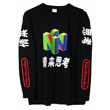 HCXX N64 Japanese Long Sleeve T-Shirt