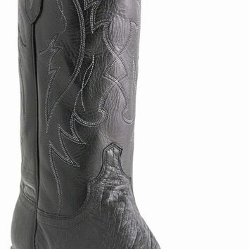 Lucchese Since 1883 Black M1601 Ostrich