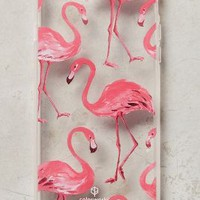 Pink Flamingos iPhone 6 Case by Anthropologie in Pink Size: One Size Tech Essentials