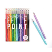International Arrivals Petite Point Fine Tip Gel Pens