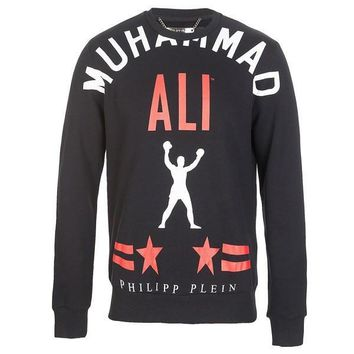 Muhammad Ali Red Star Sweatshirt