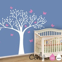 Nursery Tree Wall Decal Wall Sticker  Tree Wall by WallConsilia