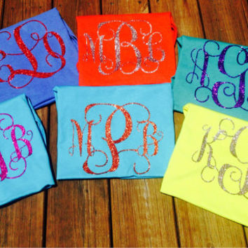 NEW GLITTER vinyl t shirts and tanks, glitter, tanks, t shirts, adult glitter, monogram, mothers day