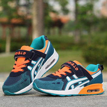 Children Sports Shoes Boys and Girls Air Cushion Shoes Slip Comfortable Kids Sneakers Child Running Shoes