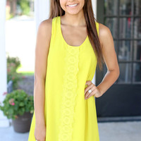 Riverside Dress -Yellow
