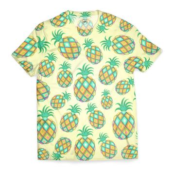 Pineapple Pastel Colors Juicy Pattern T-Shirt by Bluedarkat Lem (BluedarkArt) from €29.50 | miPic