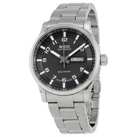 Mido Multifort Automatic Gray Dial Men's Watch M005.430.11.082.80 - Multifort - Mido - Watches - Jomashop