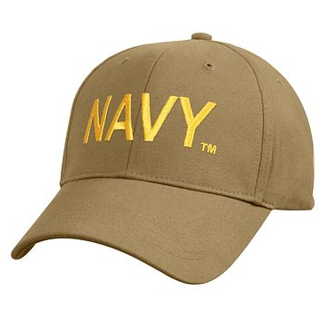 Rothco Low Profile Navy Cap - Coyote