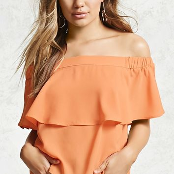 Contemporary Flounce Top