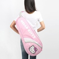 Hello Kitty Adult Tennis Bag: Pink