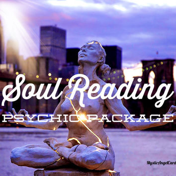 Soul Reading Psychic Package, Soul Journey Reading, Chakra and Aura Reading, Tarot Rading, Psychic Reading, accurate and in-depth
