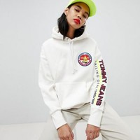 Tommy Jeans 90s Capsule 5.0 Sailing Hoodie With Sleeve Logo at asos.com