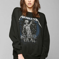 Metallica Graphic Pullover Sweatshirt - Urban Outfitters