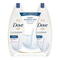 Dove Deep Moisture Body Wash - 22oz/2pk