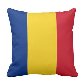 Flag of Romania Cushion