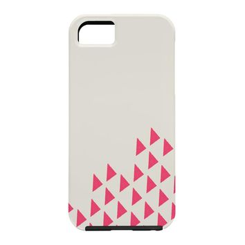 Allyson Johnson Pink Triangles Cell Phone Case