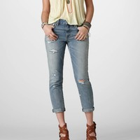 AEO Women's Boy Jean (Light Wash)