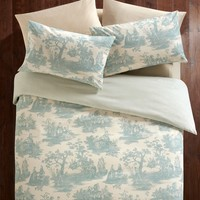 Toile Print Reversible Bedding Set - Matalan