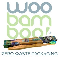 2 Pack- Adult Soft Toothbrushes with Zero Waste Packaging